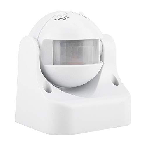 Cosiki Interruptor de Sensor, Impermeable, Ahorro de energía, fácil de Instalar, Sensor de Movimiento, liviano, Mejora la eficiencia de los inodoros, escaleras, pasillos para baños