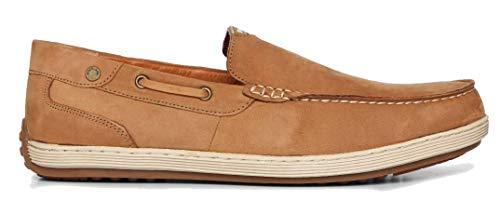 Woodland Men's Camel Genuine Leather Loafers (GC 2809118 Camel) (11 UK (41 EU) (12 US))