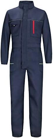46-64 Emerton Herren Arbeitsoverall Schutzanzug Arbeitshose Berufskleidung Gr