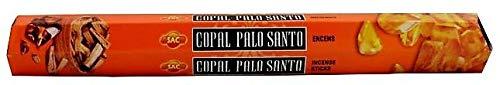 El Sendero, Sano y Natural Caja Incienso EN Varita Copal con Palo Santo