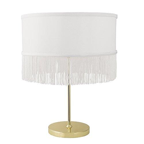 Bloomingville Lampe de table dorée.