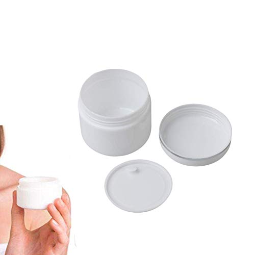 Pumpspender Sprühflasche Klein Make-up-Töpfe Flüssigemulsionsspender Plastiktöpfe Reiseflaschen-Kit Toilettenartikel in Reisegröße Kleine Behälter 20g