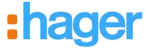 Hager Systems L44729010 buitenhoek, PC/ABS, voor kanalen GBD50085/GBA50085, sneeuwbord (RAL9010)