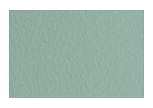 Honsell 21297113 - Fabriano Tiziano Pastellpapier Salvia, DIN A4, 50 Blatt, 160 g/m², hoch hadernhaltig, säurefrei und alterungsbeständig, griffige, raue Oberfläche