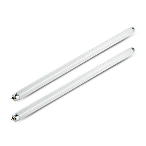 8 W Fliegenvernichter, T5 UV-Röhre, 2er-Pack, elektrischer Insektenvernichter, UV-T5-Lampe, Leuchtstoffröhre für 16 Watt Insektenvernichter, UV-Lichtröhrchen Lampe