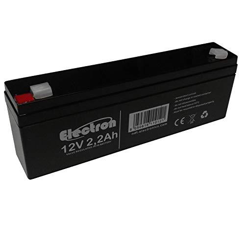 Batteria al piombo ricaricabile ermetica 12V 2.2Ah 178mm x 34mm x 66mm per antifurti allarmi sistemi di videosorveglianza