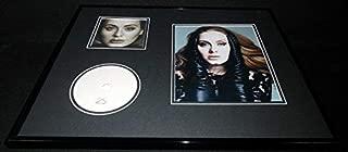 adele signed photo