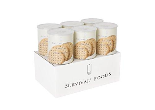 非常食・災害用食品 サバイバルフーズ クラッカー 6缶詰合 10052