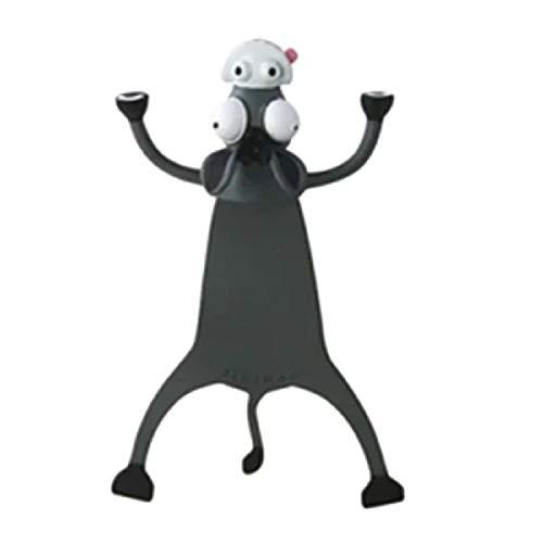 Metyere 3D Wacky Animal Bookmark Fun Reading 3D Stereo Cartoon Animal Funny Bookmarks for Kids Teens Boys Girls