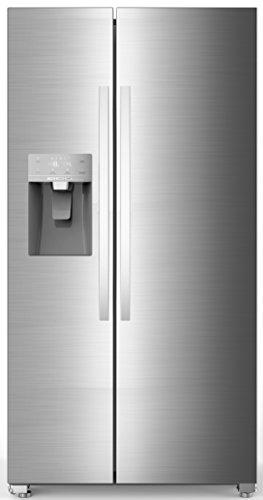 Hisense SBS 535 A+ ELIW Side-by-Side / 178.6 cm Höhe / 438 kWh/Jahr / 367 L Kühlteil / 168 L Gefrierteil / Eis- und Wasserspender / Total No Frost