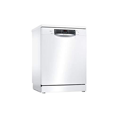 Lave vaisselle Bosch SMS46JW01F - Lave vaisselle 60 cm - Classe A++ / 42 decibels - 13 couverts - Blanc bandeau : Blanc - Pose libre