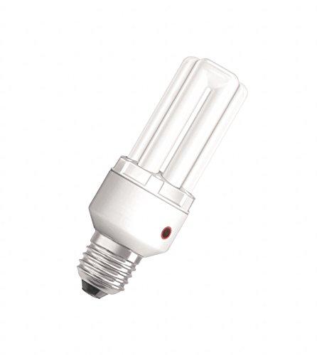 Osram DULUX EL Sensor 15 Watt E27 Energiesparlampe mit Lichtsensor