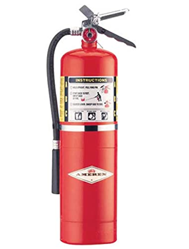 Amerex B456 ABC Dry Chemical Fire Extinguisher with Aluminum Valve, 10 lb.