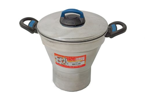 Pentola per cous cous in alluminio Dry,3,5 litri.