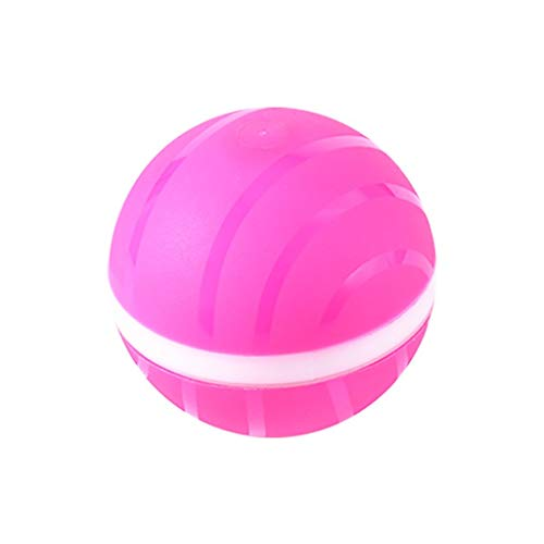 Radorock Wicked Ball Pet Dog Cat Toys Interactive Toy Electric USB Rechargeable Pet Toy Ball Kitten Puppy Dog LED Light Silicone Waterproof Ball Green