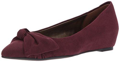 Bandolino Footwear Women's Ressie Pump, Sangria, 10.5