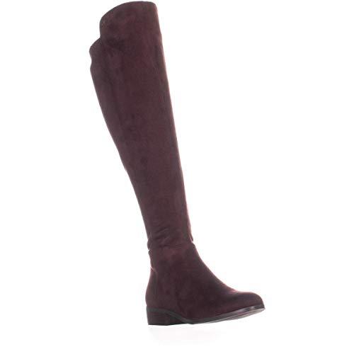 Michael Kors Bromley Flat Boot, Botas de Equitación Mujeres, Punta Cerrada, Piel, Negro, Talla 9.5
