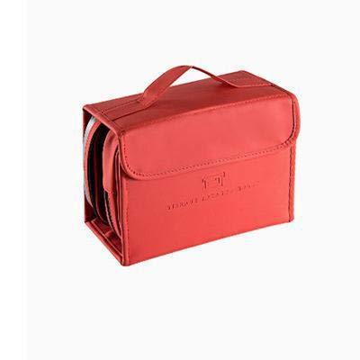 YOLK Caja de cosméticos para viaje neceser bolsa de maquillaje caja de cosméticos bolsa organizador bolsa de maquillaje caja de maquillaje