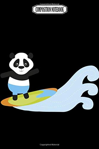 Composition Notebook: Rock panda kungfu hiphop decor onsie talking square banana gloves panda notebook Journal Notebook Blank Lined Ruled 6x9 100 Pages