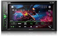 "Pioneer Multimedia DVD Receiver with 6.2"" WVGA Clear Resistive Display"