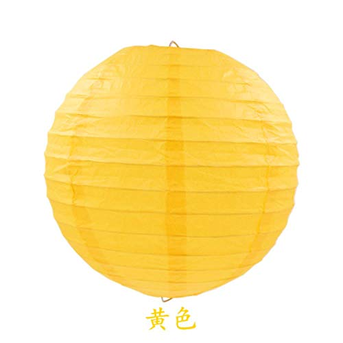 4-16inch (10-40cm) Chinese Papier Lantaarn Ronde Lamp Festival Lampion Bruiloft Glim Lampen Party Decoraties Halloween Lantaarns