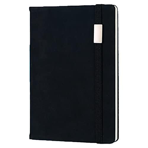 Anjetan Cuaderno Escolar Portátil A5 Clásico Decorativo Funda De Piel Sintética Diario De Escritura Creativa Multifuncional