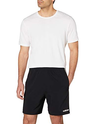 adidas Essentials 3-Stripes Chelsea, Pantaloncini Uomo, Nero (Black/White), L