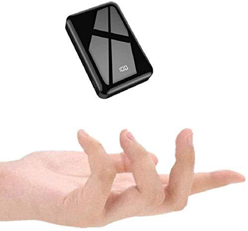 Lasuki Mini Power Bank 13800mAh Batería Externa para Movil Carga Rápida Power Delivery Portable 2 USB Salidas Batería Portatil para iPhone Samsung Android Móviles Tableta