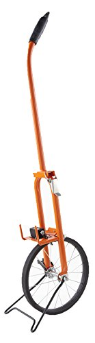 Keson MP301 Metal Frame Measuring Wheel with Spoked Wheel (Graduations: ft.), 11-1/2-Inch Diameter