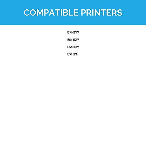 LD Compatible Dell 593-BBKD/P7RMX High Yield Black Laser Toner Cartridge for Dell E310dw, E514dw, E515dn, E515dw