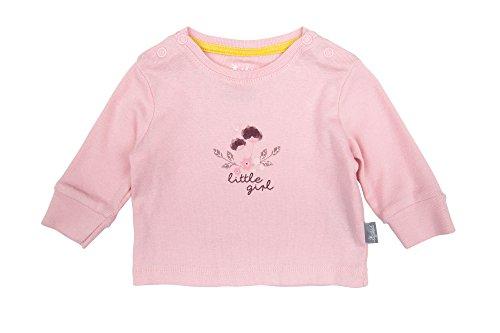 Sigikid Baby-Mädchen, New Born Langarmshirt, Rosa (Silver Pink 634), 68