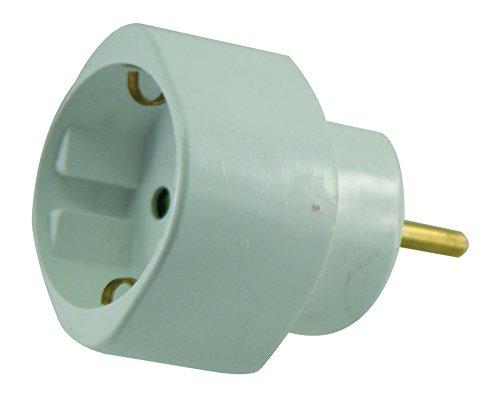 Lébenoid 310112 Adapter, Kunststoff, Weiß