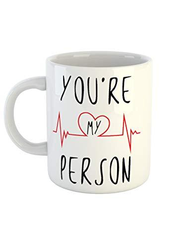 Taza de café con texto en inglés «You Are My Persona» | El regalo para tus seres queridos | Para mejores amigos o compañeros de trabajo