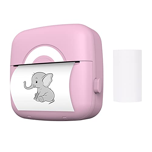 Daseey Mini Pocket Photo Printer Máquina de impressão térmica portátil 203DPI Wireless BT Connection para Picture Lable DIY Lista de artesanato Meno Notes Paper Receipt Paper Instant Printer Sticker with 1