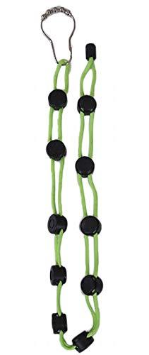 Plus Nao(プラスナオ) 靴下 洗濯 ロープ 物干しロープ ソックス くつ下洗い紐 整理 収納 省スペース 乾燥ロープ 調節可能 滑り止め 物干し - グリーン