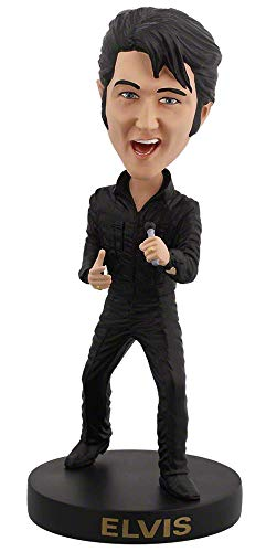 Royal Bobbles - Wackelkopffigur Elvis Presley - 68er Comeback-Special