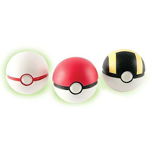 Pokémon Pokebola Pacote com 1 bolinha e 1 personagem - 1 (UM) PACOTE SORTIDO SEM OPÇÃO DE ESCOLHA DAS CORES