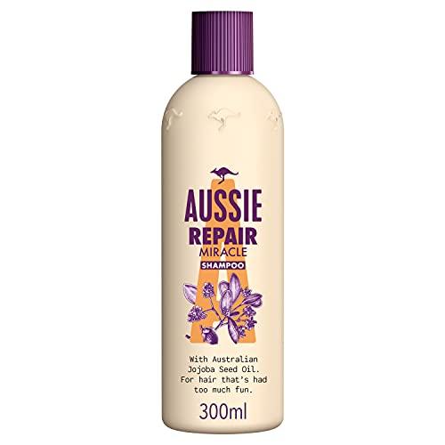 Aussie Repair Miracle Champú Reparación para el Pelo, 300 ml