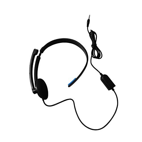 rongweiwang REEMPLAZO para Playstation 4 PS4 X-UNO AURÍFICOS DE AURÍFICOS DE AUENTE DE ORIENTES DE Oriente Auriculares DE Juegos DE Auriculares DE PC