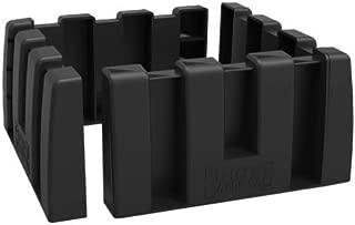 Multipurpose Cargo Organizer Blocks Car Trunk Storage Organizer Blocks, Available to Wool Trunk's Carpet for Car/Truck/SUV/Van, Set of 4