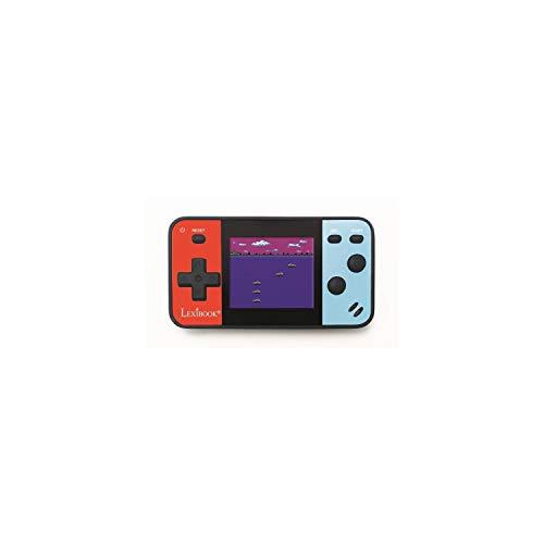 """Lexibook JL1895 tragbare Spielekonsole Cyber Arcade Pocket 150-Spiele, 1,8\"""" / 4.5 cm Farb-LCD-Bildschirm, Videospiele für Teenager, blau/rot"""