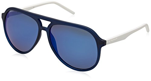 Polaroid Herren Pld 2048/S 5X Rct 59 Sonnenbrille, Blau (Blute/Grey Blue)