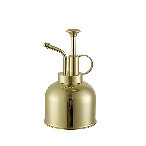Globalstore Stainless Steel Watering Can, Upgrade Mini Plant Spray Mister 10oz/300ml Watering Pot...