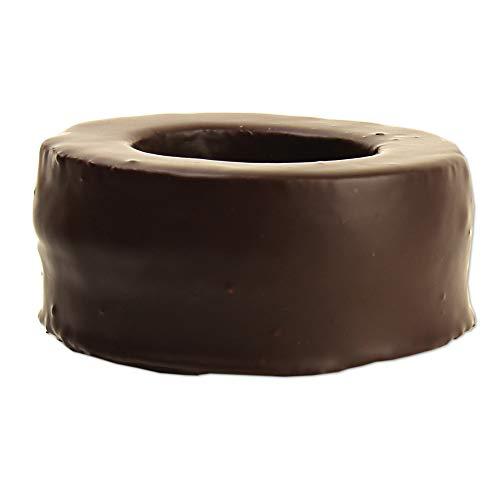 Baumkuchen Ring GLUTENFREI 200g - einzeln getaucht in 70% Zartbitterschokolade - inklusive Geschenkdose