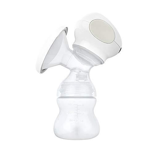 Good store UK Extractor de leche eléctrico, Cómodo extractor de lactancia, Sacaleches solo para bebés Viaje carga USB Masaje ajustable de velocidad múltiple Pantalla LED HD