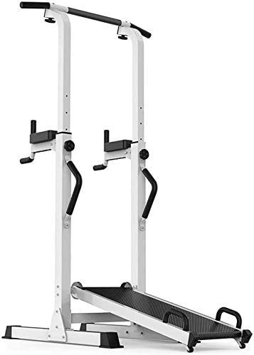 Wxxdlooa Pull-up-Bars, Einstellbare Muti-Funktion Power Tower Chin/Dip-Maschine, Ab Bahnhof Pull Up-Station for Home Fitness GAGEAA