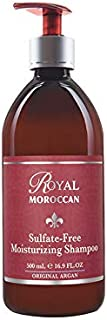 Royal Moroccan Formula - Sulfate-Free moisturizing Shampoo (500 ml) - Base of Moroccan Argan oil, For color – Treated Hair