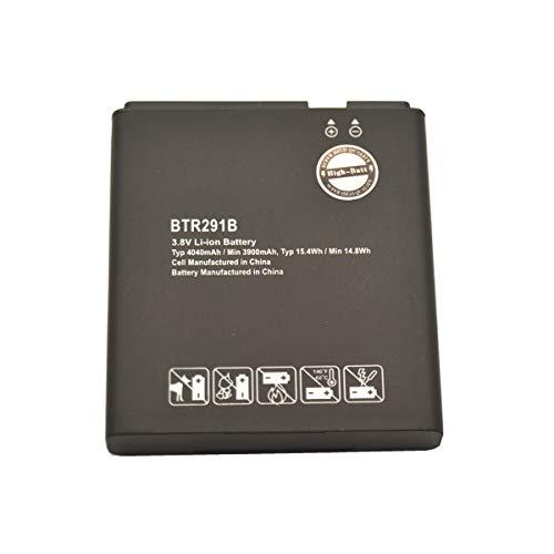High-Batt BTR291B Battery, Replacement Battery for Pantech 291LVW-7046 MHS291L MHS291LVW MHS291B Jetpack 4G LTE Pantech 291LVW Verizon 291LVW-7046 Hotspot MHS291L Hotspot MHS291LVW (1 Pack)