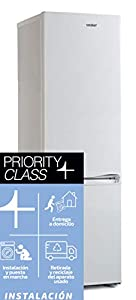 Sauber - Frigorífico Combi SC183 - Eficiencia energética: A+ - 185x55cm - Color Blanco