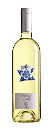 6 x 0.75 l - I Fiori di Pala. Nuragus di Cagliari Doc. Rappresentano un quartetto di vini prodotti da uve tipiche della zona di Serdiana - il Nuragus è un vino bianco fresco, di buona intensità